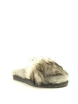 Emu Myna Slipper Charcoal