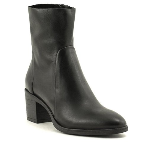 David Tyler David Tyler Sally80i Leather Boot Black