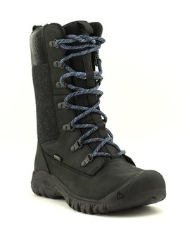 Keen Greta Tall Boot WP Black
