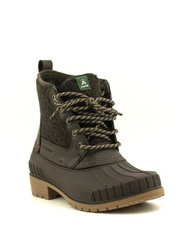 Kamik Sienna Mid Waterproof Boot Dark Brown