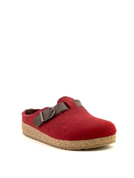Haflinger GZB21 Slipper Bordeaux