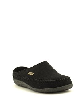 Haflinger Fletcher Slipper Black