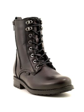 Bulle 18C187M Lace-Up Boot Bordo