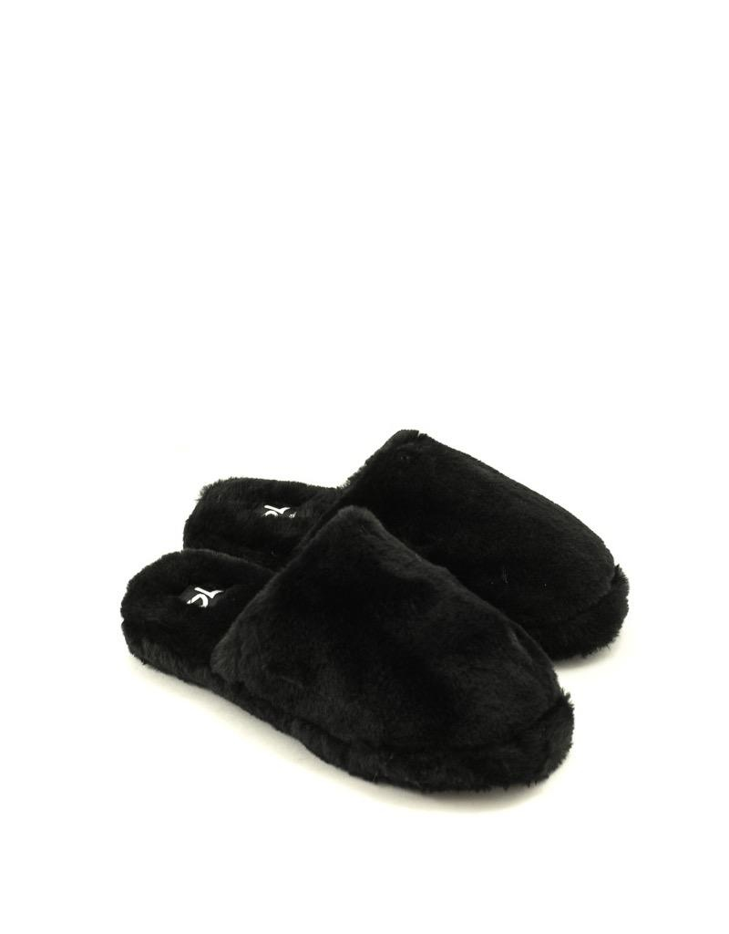 Dirty Laundry Dirty Laundry Come Out Slipper Black