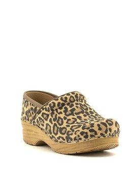 Dansko Professional Leopard Suede