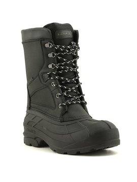 Men's Kamik Nationpro W Waterproof Boot Black