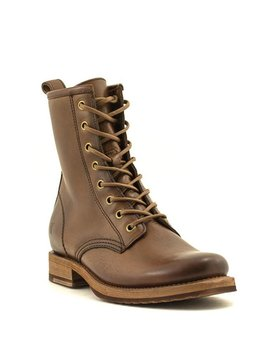Frye Veronica Combat Boot Caramel