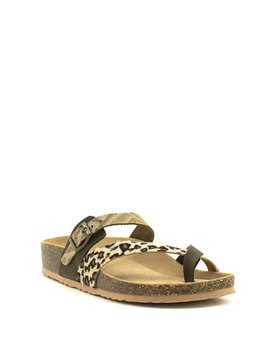 Bos & Co Parr Sandal Multi Animal Print