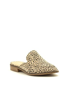 CL BY LAUNDRY Freshest Mule Beige Cheetah