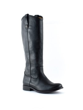 Frye Melissa Button Black