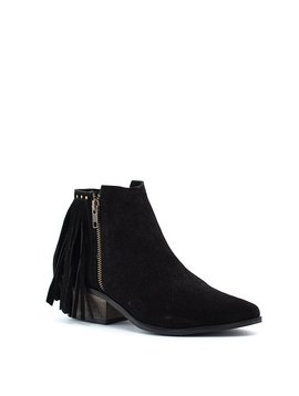 Matisse Billy Boot Black Suede