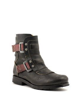Fly Seli Boot Black Leather
