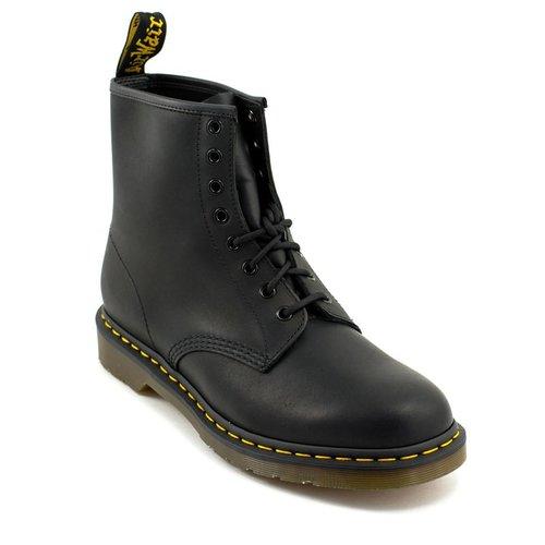 Doc Martens Men's Dr Marten's 1460 Boot Black Greasy