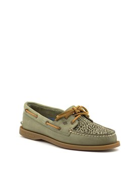 Sperry A/O Villa Perf Loafer Olive