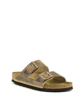 Birkenstock Birkenstock Arizona Tobacco Oiled Leather Narrow Width