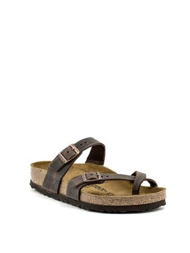 Birkenstock Mayari Havana Natural Leather Regular Footbed