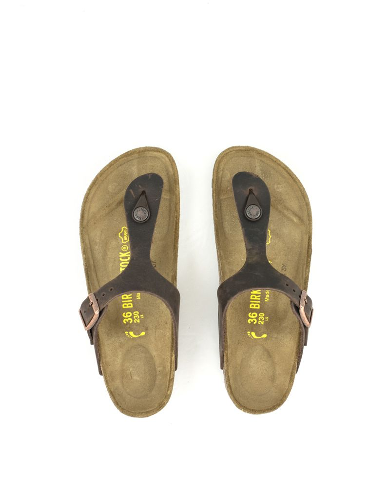 5a7c8c06039 Buy Birkenstock Gizeh Habana Leather Online Now at Shoe La La