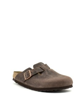 Birkenstock Boston Habana Leather Narrow Width