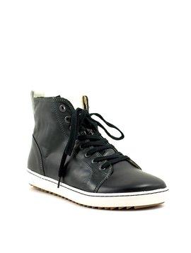 Birkenstock Bartlett Black Leather Regular Width