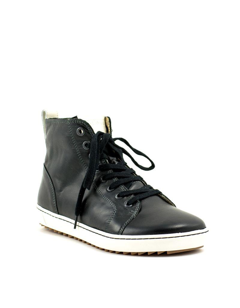 Birkenstock Birkenstock Bartlett Black Leather Regular Width