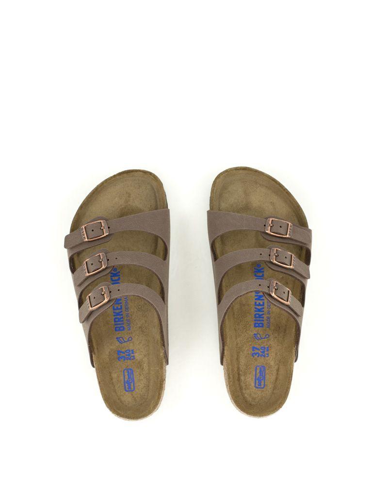 Birkenstock Birkenstock Florida Birko-Flor Soft Footbed Regular Width Mocca fe481f5ad0e