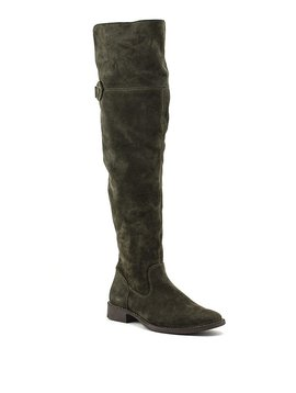 Frye Shirley Over-The-Knee Boots Fatigue