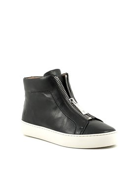 Frye Lena Zip High Top Black