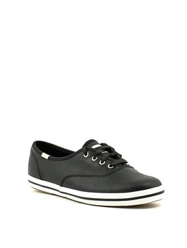 Keds Kate Spade Champ Sneaker Black Leather