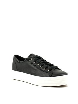 Keds Triple Kick Sneaker Metallic Black