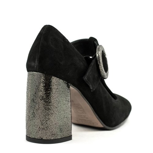 Cafe Noir Cafe Noir LMC514 Shoe Black