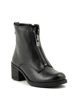 Bussola Tish Short Zip Boot Black