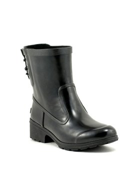 Sperry Aerial Lana Rain Boot Black