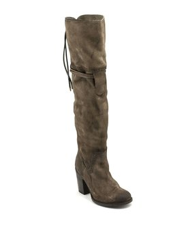 Freebird Brock Over-The-Knee Boot Grey