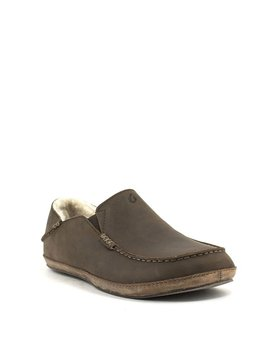Men's Olukai Moloa Slipper Dark Wood