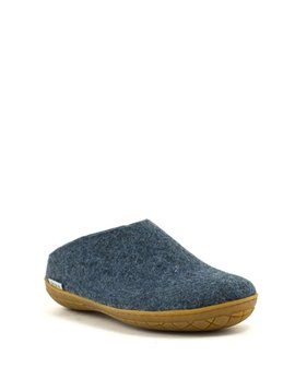 Glerups Slipper Rubber Sole Denim