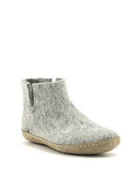 Glerups Boot Suede Sole Grey