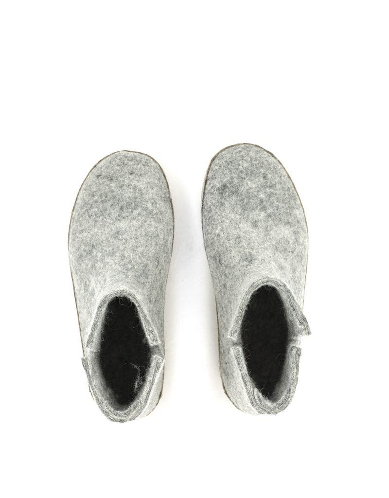 Glerups Glerups Boot Suede Sole Grey