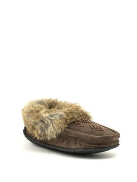 Manitobah Traveller Moccasin Chocolate