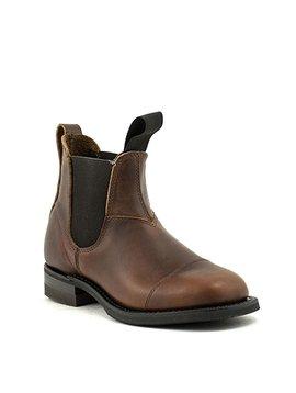 Ladies Canada West 6776 Romeo Boot Pecan Tumbled Leather