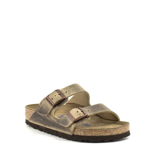 Birkenstock Birkenstock Arizona Tobacco Waxy Leather Soft Footbed Regular Width