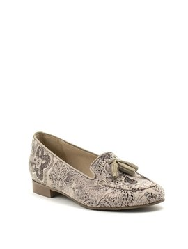 Unity In Diversity Adonis Shoe Floral Taupe
