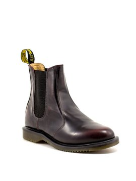 Dr. Martens Flora Chelsea Boot Cherry Red
