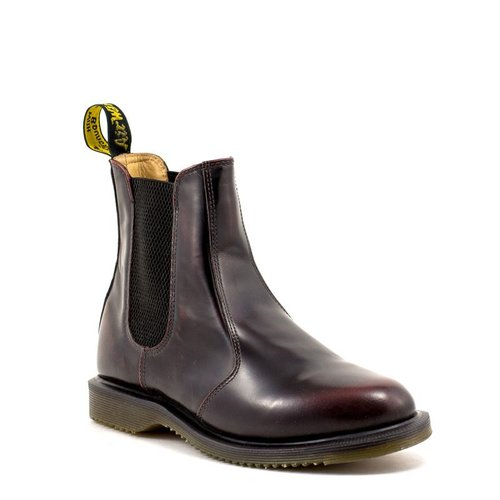 baby Los Angeles tijdloos design Dr. Martens Flora Chelsea Boot Cherry Red