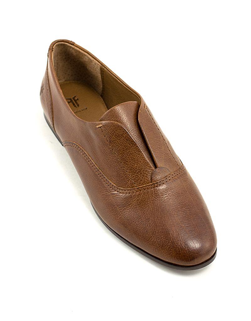 Frye Terri Slip On In Cognac At Shoe La La