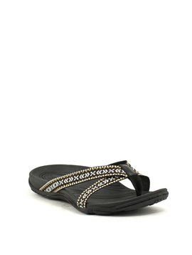 Earth Malia Sandal Black Multi