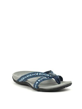Earth Malia Sandal Navy Multi