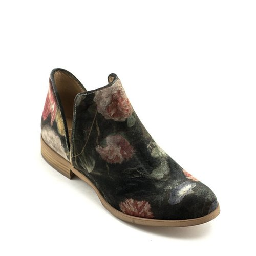 Ateliers Ateliers Zale Boot Floral Velour