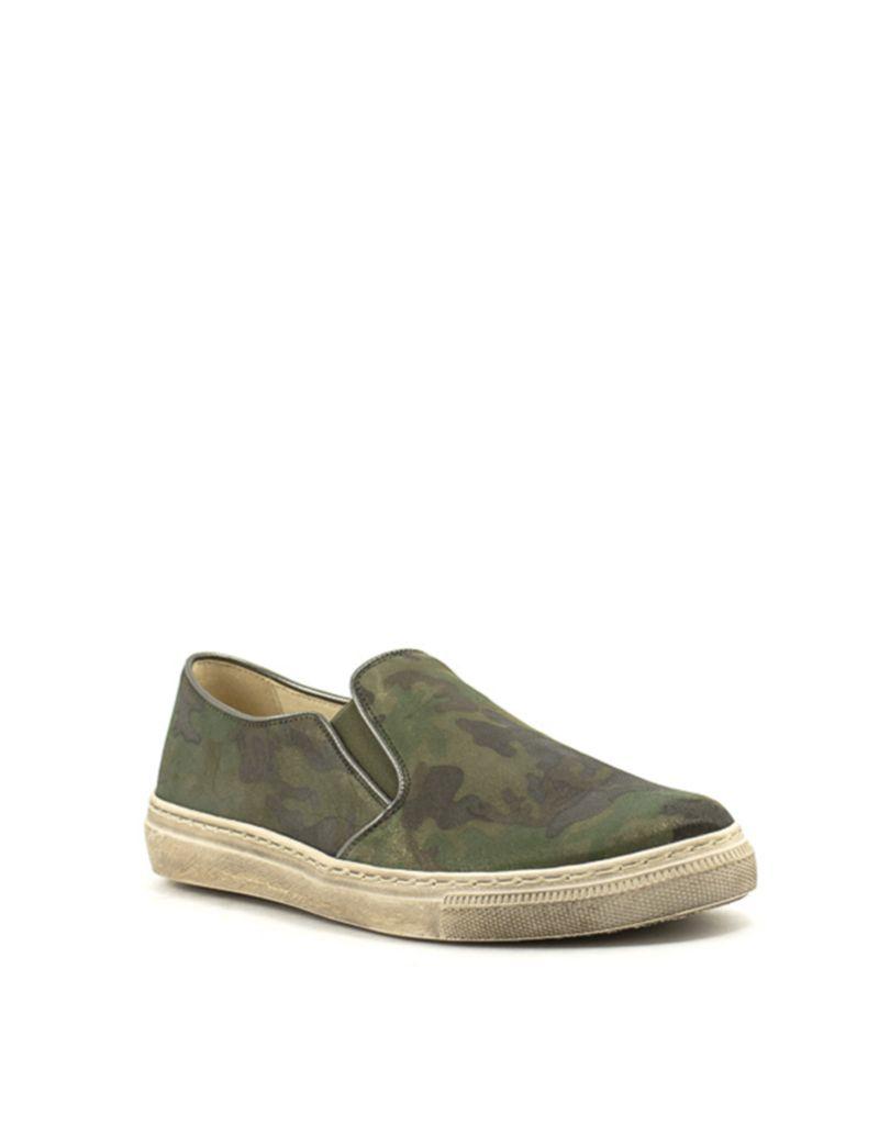 e74bb1ded3da51 Gabor Gabor 83.352.45 Sneaker Camo Perl Olive Kombi
