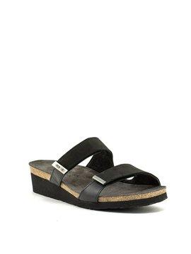 Naot Jacey Wide Sandal Black