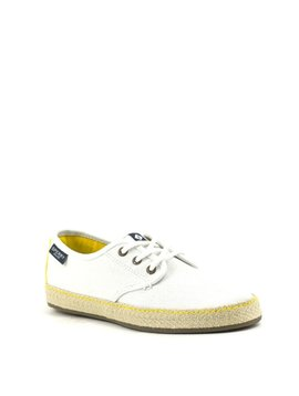 Sperry Pier Buoy Sneaker White/Yellow